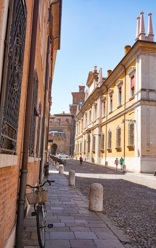 Corso Ercole I d'Este Ferrara Italy