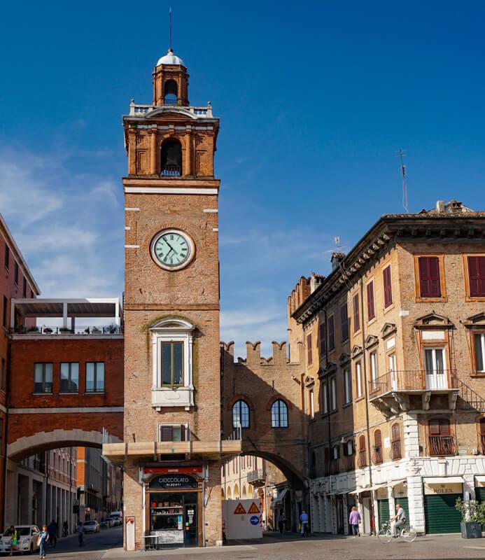 Torre dell'Orologio Ferrara Italy