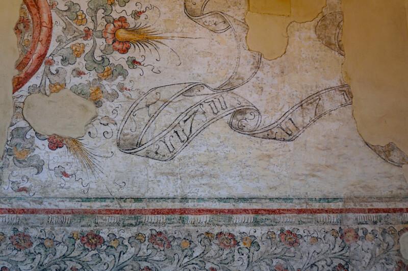 Fresco Casa Romei Ferrara Italy