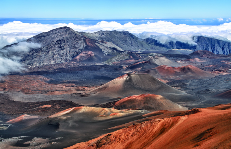 Haleakala National Park Maui Hawaii USA