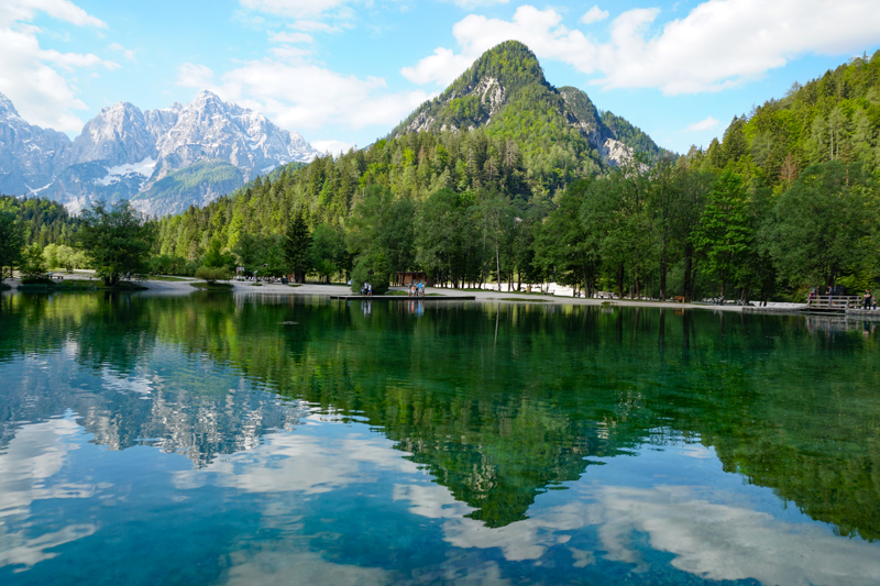 Lake Jasna in Slovenia