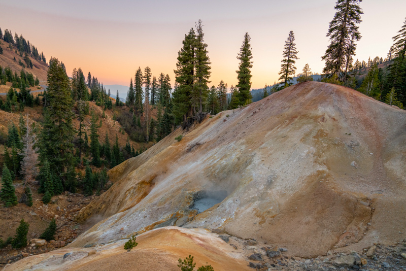 Lassen Volcanic National Park California USA