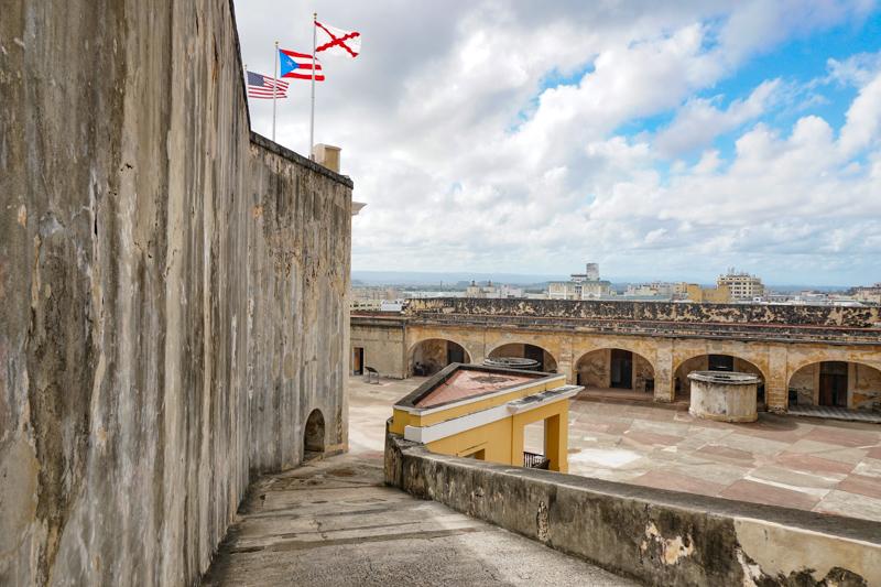 Main Plaza Castillo San Cristobal Old San Juan Puerto Rico