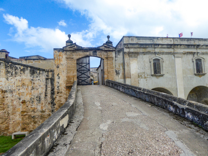 Old Entrance Castillo San Cristobal San Juan PR