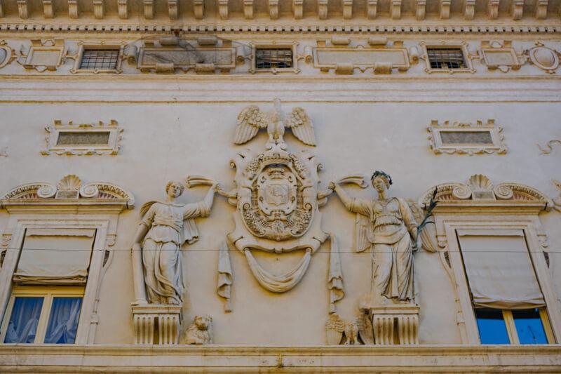 Palazzo dei Bentivoglio Ferrara Italy