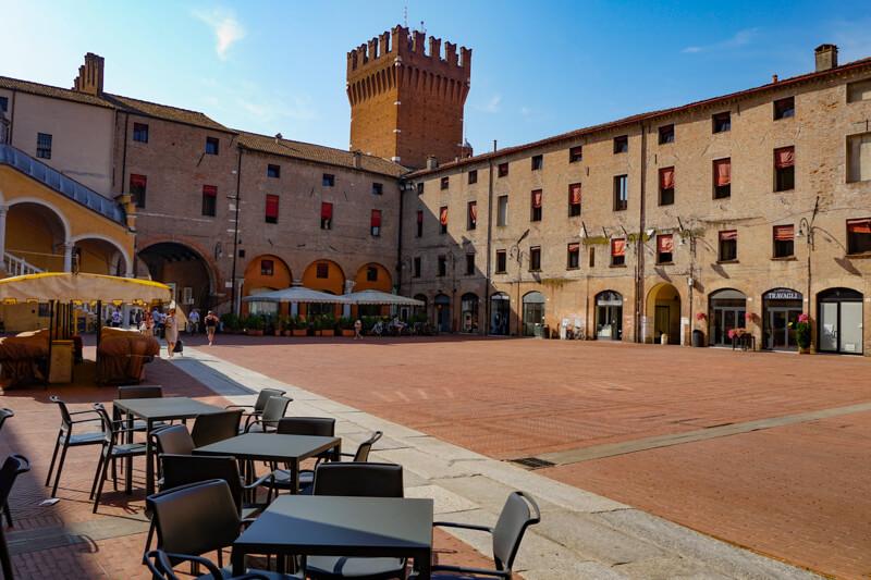 Piazza Municipio Ferrara Italy