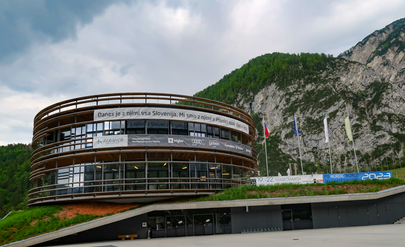 Planica Nordic Center in Slovenia