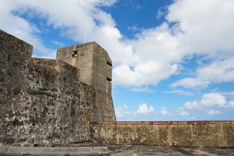 San Cristobal Fort in San Juan Puerto Rico
