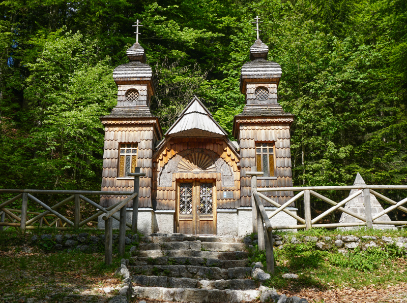 The Russian Chapel in Slovenia