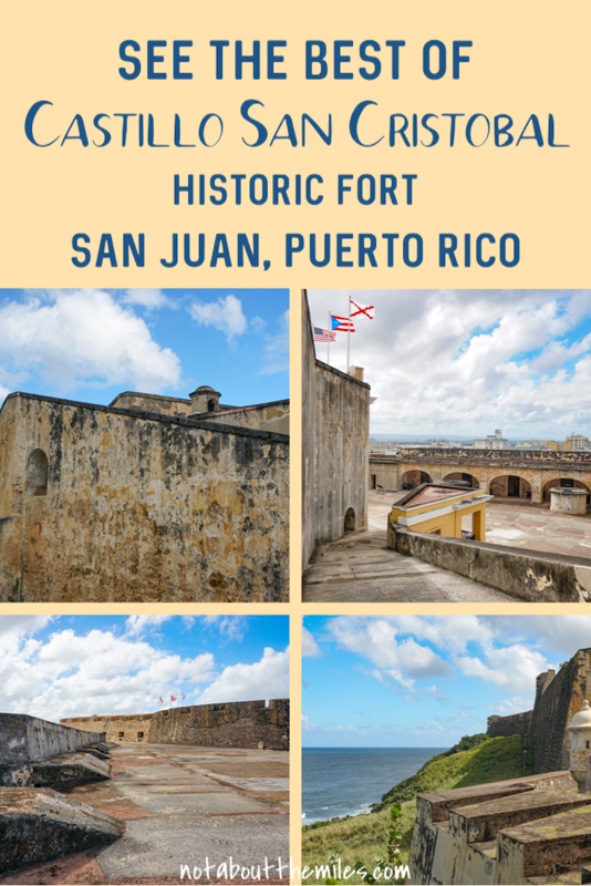 Discover the ultimate guide to visiting Castillo San Cristobal in Old San Juan, Puerto Rico, part of San Juan's National Historic Site and a UNESCO World Heritage Site. Plus photo spots and tips!