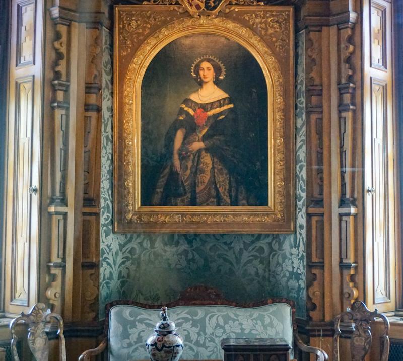 A room in the Castello di Miramare Trieste