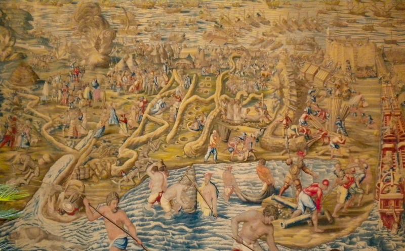 Belgian Tapestry Seville Alcazar