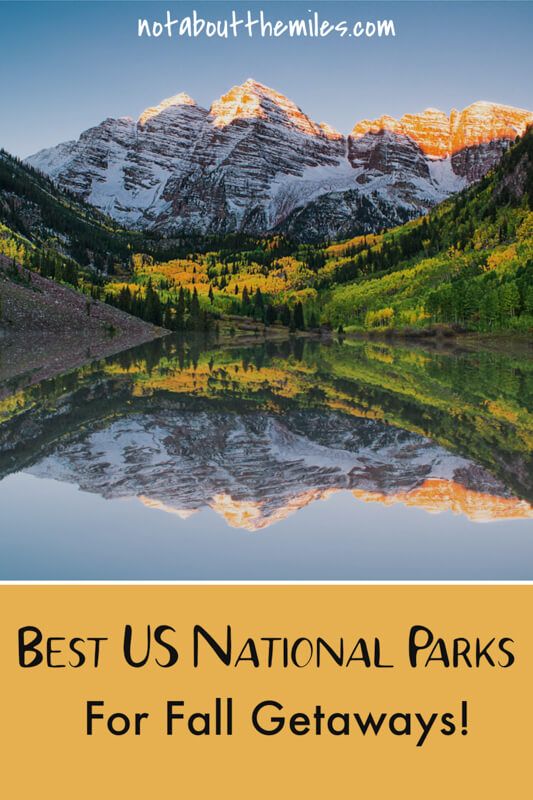 From Shenandoah and Acadia to Yellowstone and Rocky Mountain National Park, discover the most stunning US National Parks to visit in the fall!