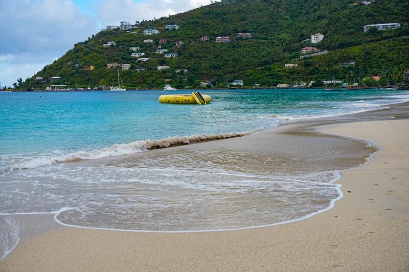 Cane Garden Bay in Tortola BVI