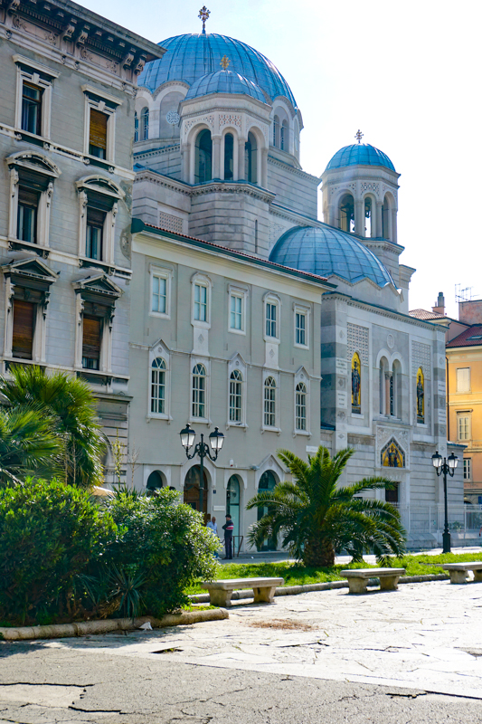Church of San Spiridione in Trieste Italy