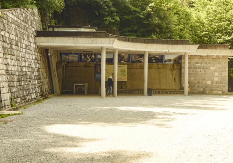 Entrance to Skocjan Caves in Slovenia