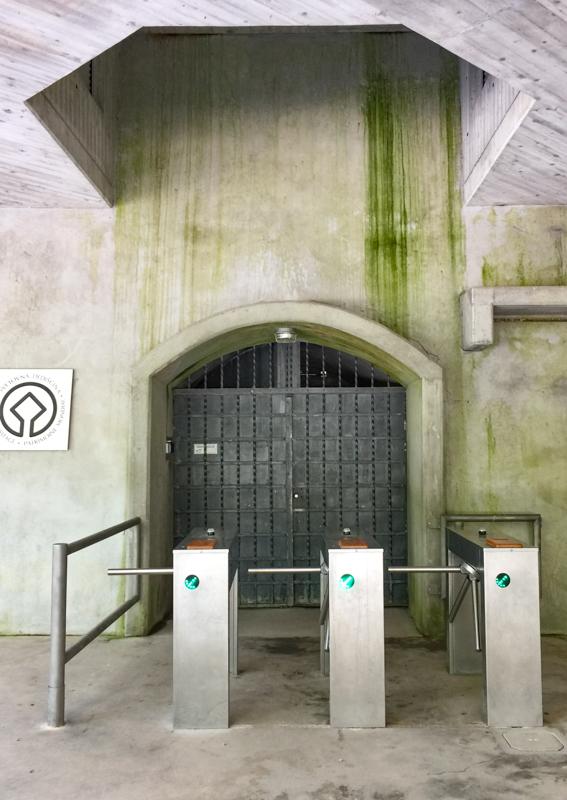 Entrance to the Skocjan Caves in Slovenia