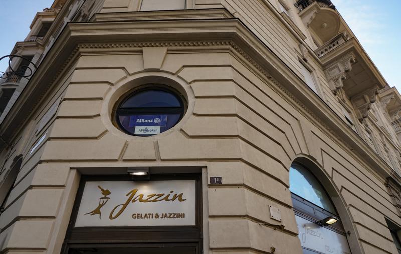 Gelateria Jazzin Trieste Italy