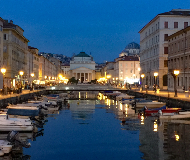 Grand Canal Trieste Italy