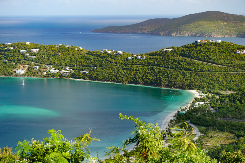 Magens Bay on Saint Thomas USVI