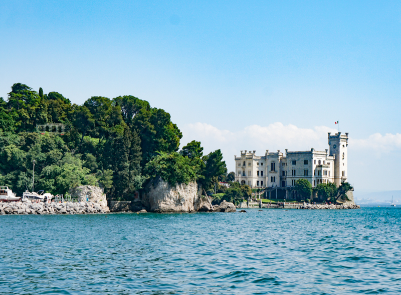 Miramare Castle Trieste Italy
