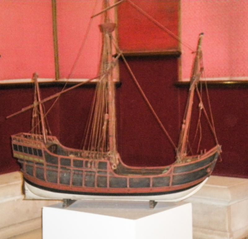 Model of Ship House of Trade Seville Alcazar
