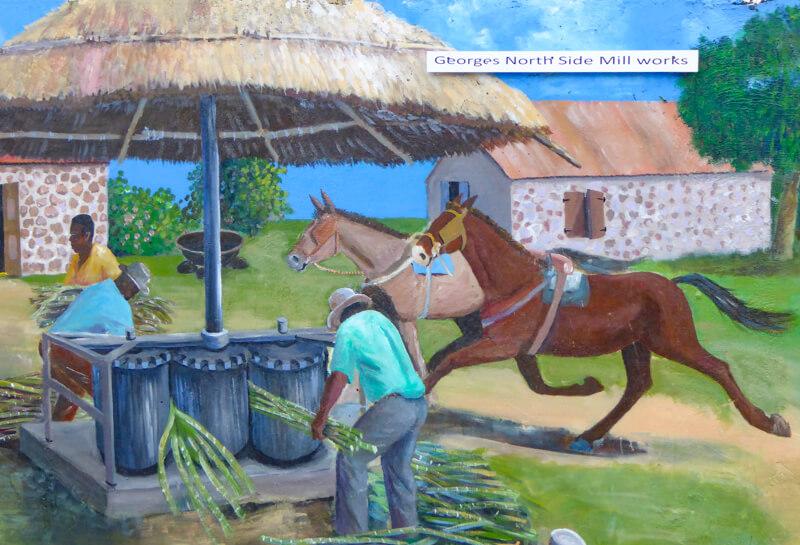 Mural in Tortola BVI