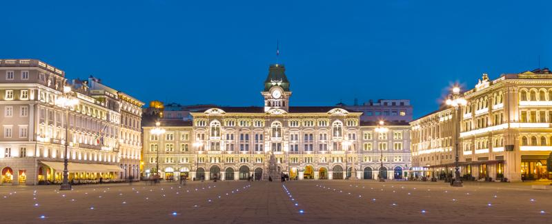 Piazza Unita d'Italia Trieste Italy