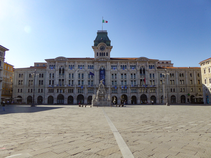 Piazza Unita d'Italia in Trieste