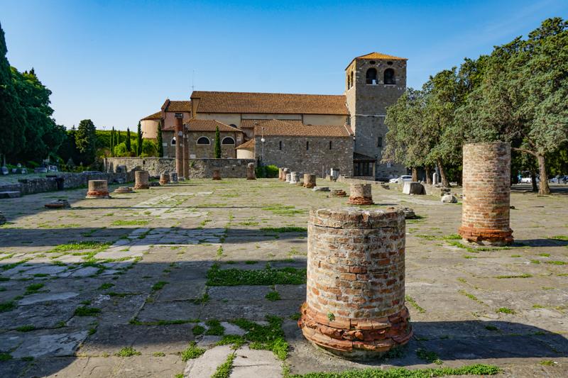Roman Ruins Trieste Italy