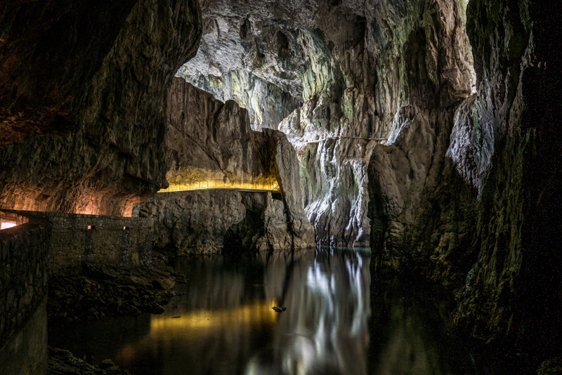 Skocjan Caves Slovenia Cavern