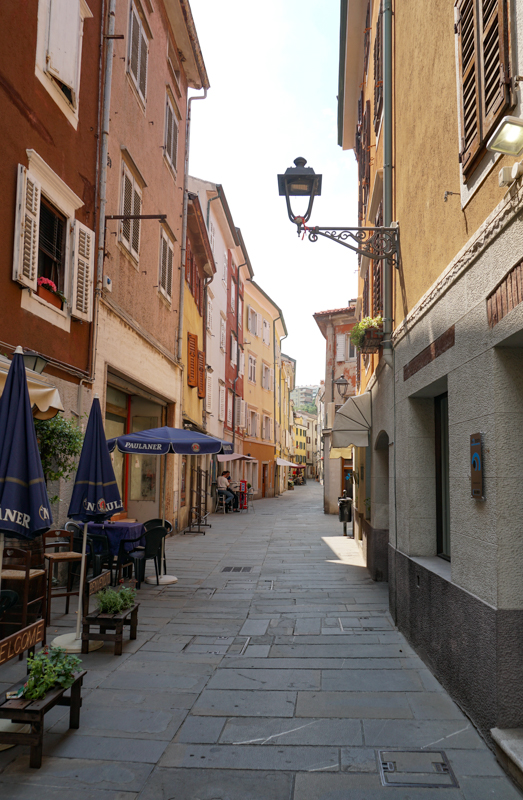 Street Muggia Italy