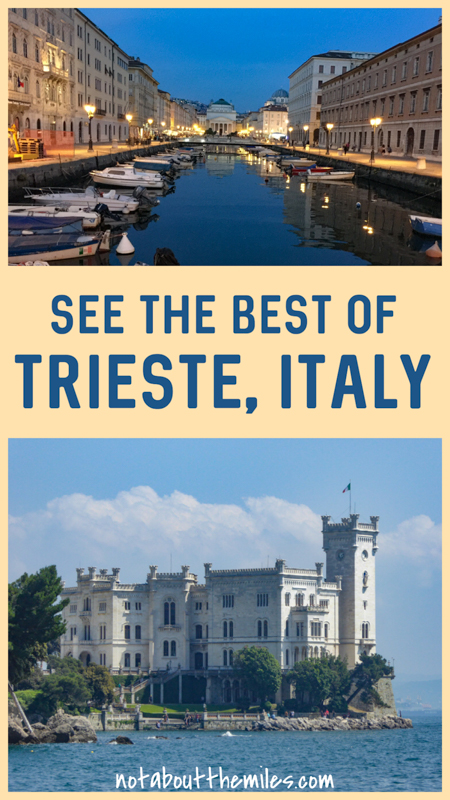 Discover the best things to do in Trieste Italy! From the Miramare Castle to the Castello do San Giusto and the massive Piazza Unita d'Italia and Trieste's coffee culture, experience the best of this northeastern Italian city!