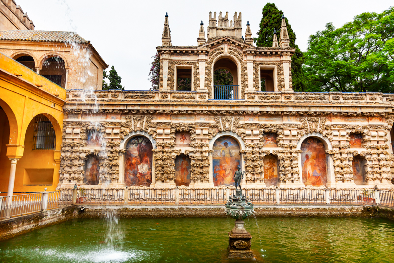 The Mercury Pond at the Alcazar of Seville