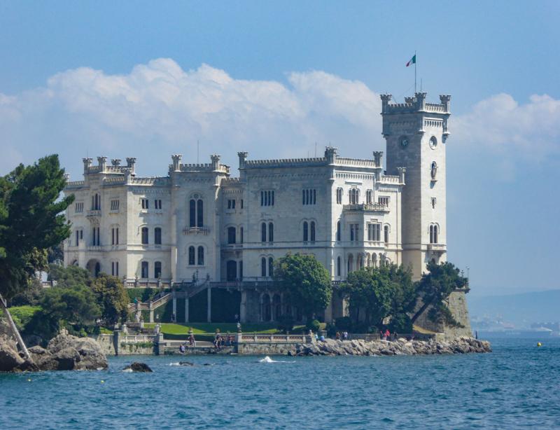 The Miramare Castle Trieste Italy