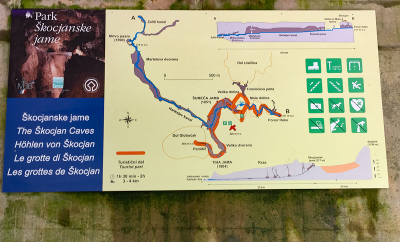 The Skocjan Cave System in Slovenia