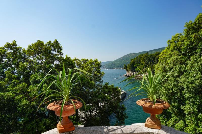 View from the Castello di Miramare in Trieste