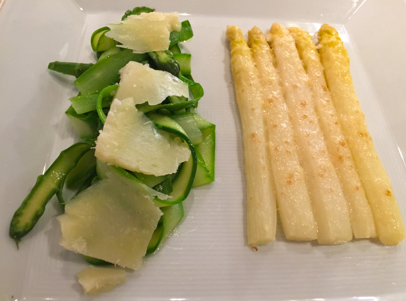 White Asparagus in Trieste Italy