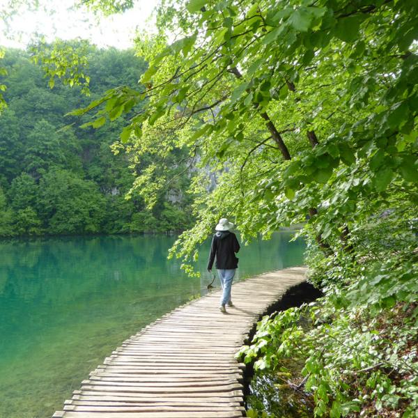 At Plitvice NP Croatia