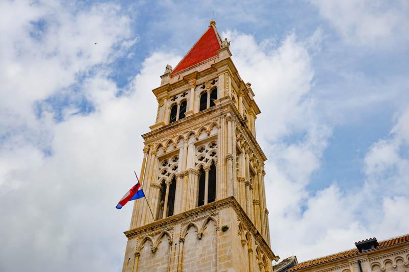 Bell Tower Trogir Cathedral Trogir Croatia