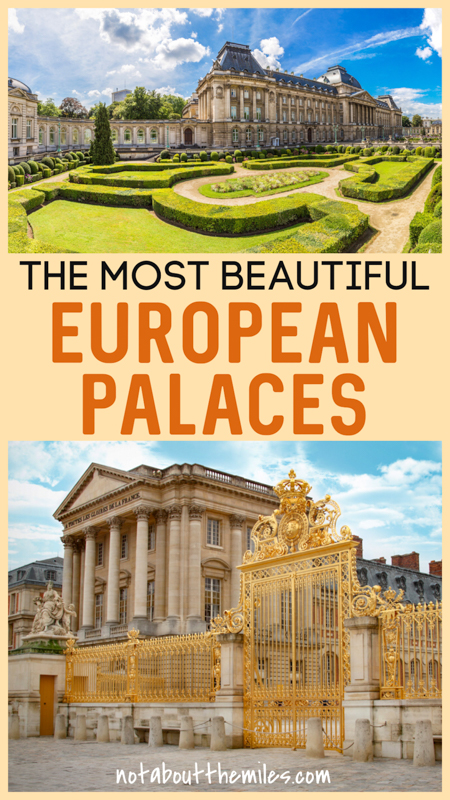 Discover the most unforgettable palaces in Europe for your bucket list! From Buckingham Palace in London to Topkapi in Istanbul and Versailles in France, these grand palaces will wow you!