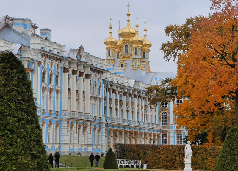 Catherine Palace Saint Petersburg Russia