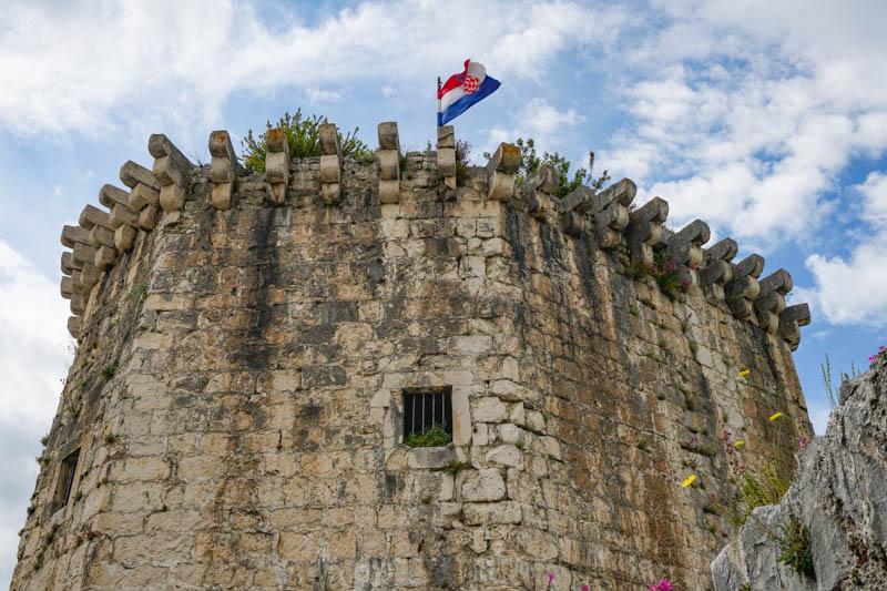 Kamerlengo Fortress in Trogir Croatia