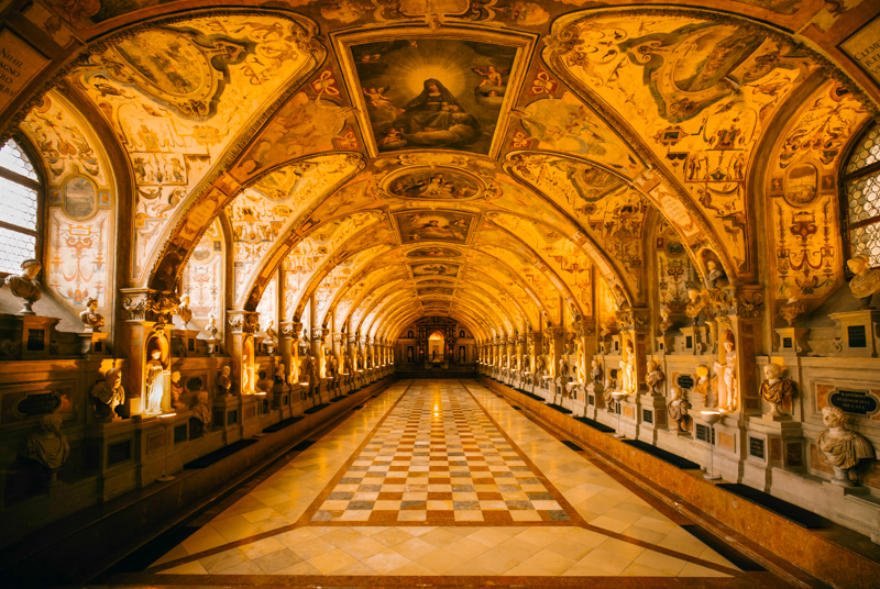 Munich Royal Residenz Germany