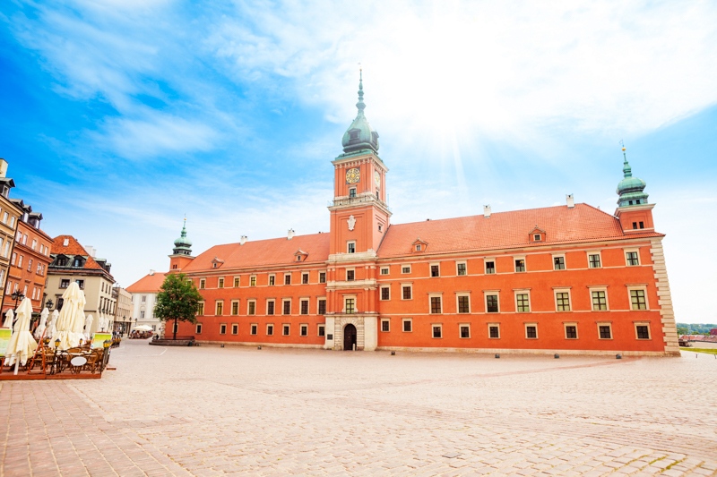 Royal Castle Warsaw Poland