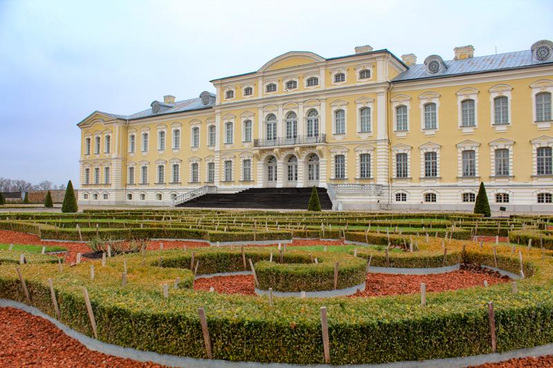 Rundale Palace Riga Latvia