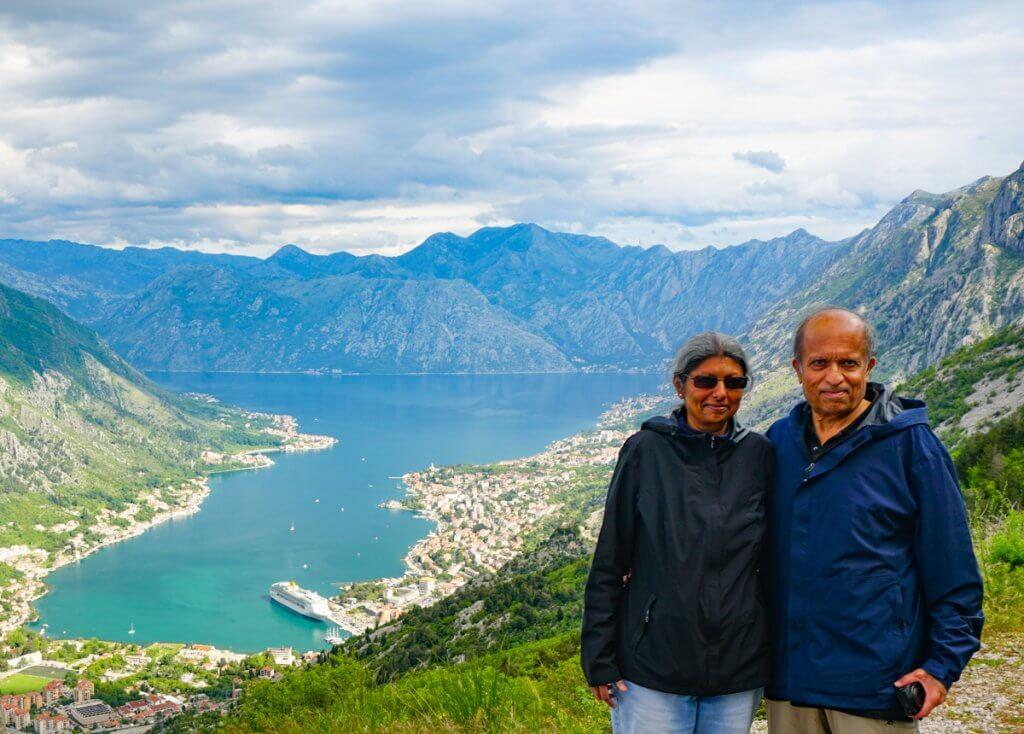 Us in Montenegro