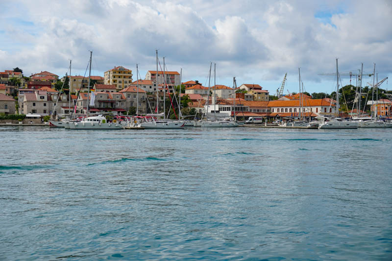 View from Trogir Waterfront