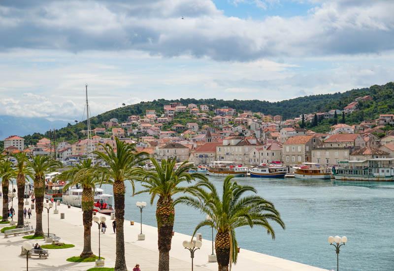 Views from Kamerlengo in Trogir