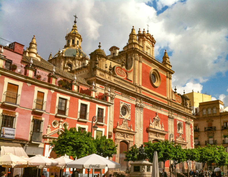 Church in Seville Spain